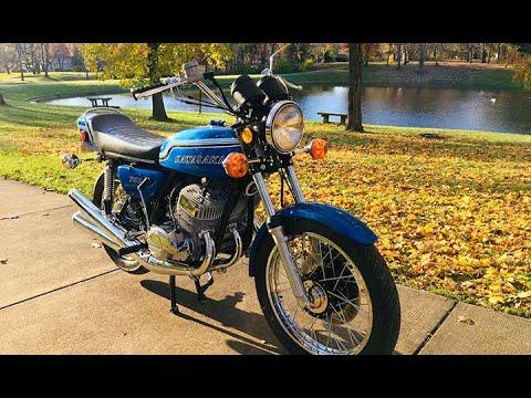 """1972 H2 Kawasaki Triple """"A Show Bike Is Born"""""""