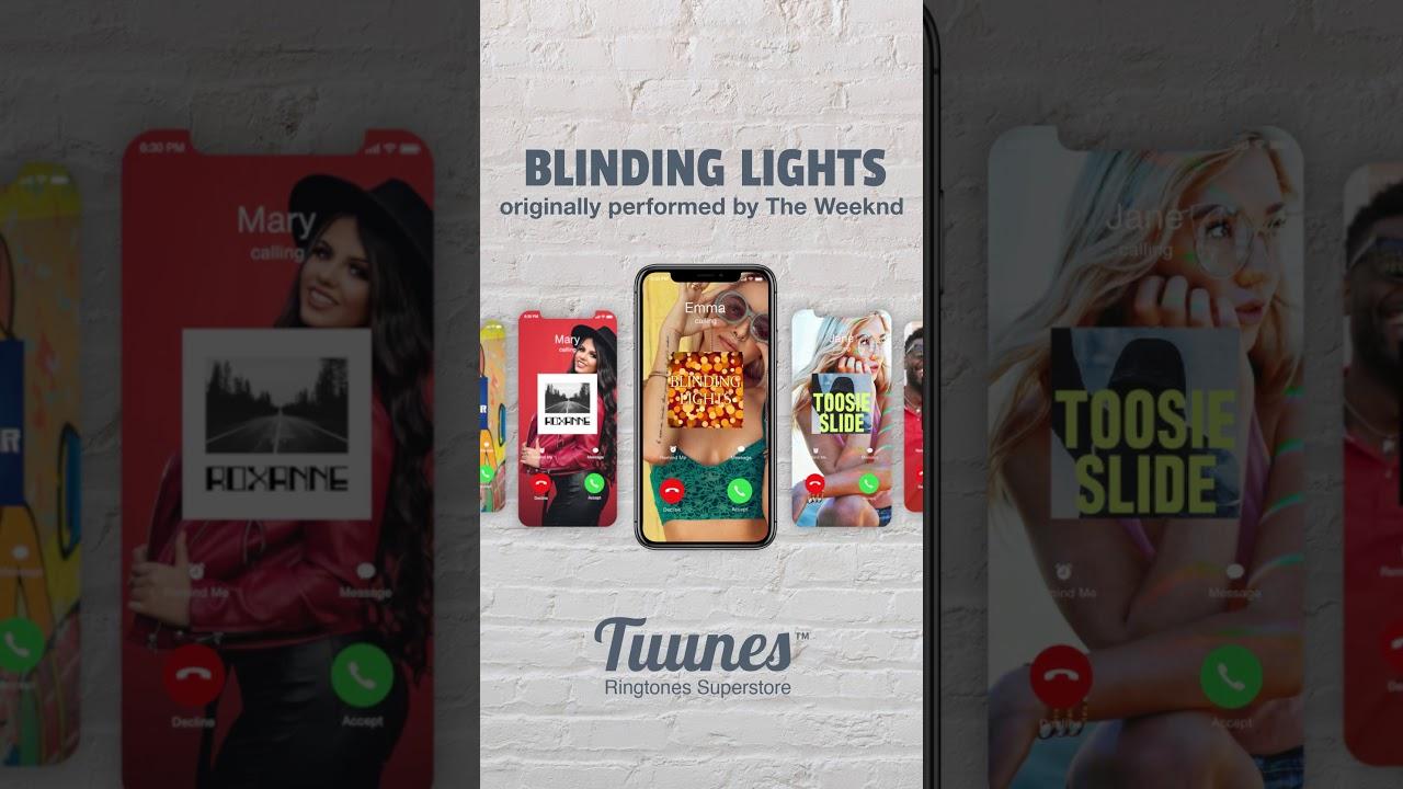 Top 5 ringtones: Toosie Slide, Savage, Rockstar, Roxanne, Blinding Lights 🌟 What's your favorite?