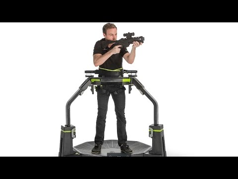 The Virtuix Omni Treadmill: Run and Jump While Playing Games