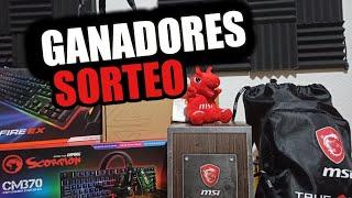 GANADORES DEL SORTEO!!!