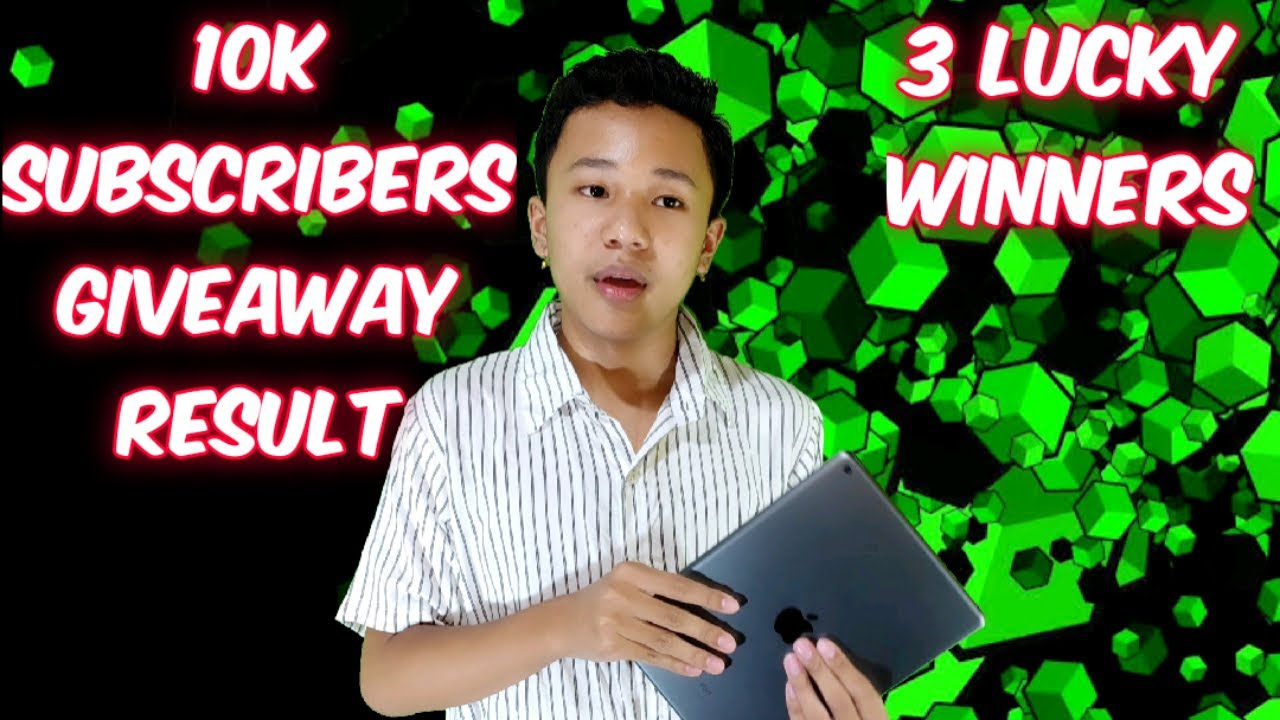 Download 10K give Away Result ❤️ Mayam Faobra yengbiro Best of luck👍👍👍