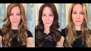Wig Review: Amber by Jon Renau in 3 colors!