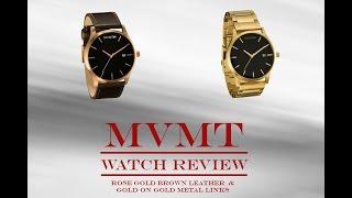 MVMT watch review: rose gold/gold part 1
