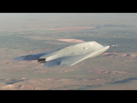 BAE Systems - Taranis Unmanned Combat Air Vehicle (UCAV) First Flight [1080p]