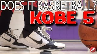 Does It Still Basketball Throwback Review! Nike Kobe 5!