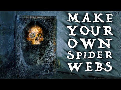 Easy DIY Spider Webs / Cobwebs | Halloween DIY!