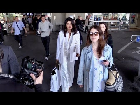 EXCLUSIVE : Priyanka Chopra Jonas arriving in Cannes via Nice airport