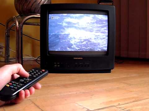 TV Daewoo prezentacja - YouTube