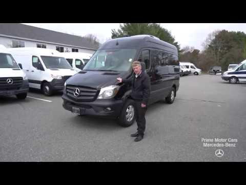 Mercedes Tour Van >> Last 2018 Mercedes Benz Sprinter Passenger Van Video Tour With Roger