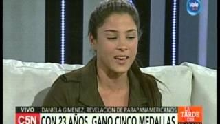 C5N - Deporte: Entrevista Daniela Gimenez