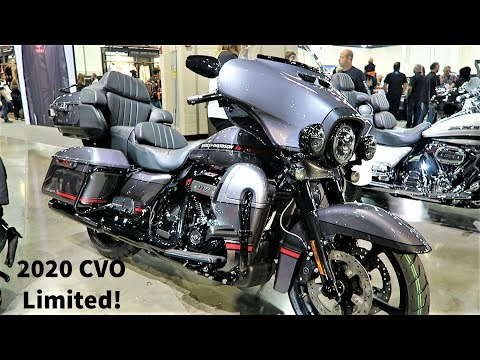"2020 Harley-Davidson CVO Limited ""First Look"""