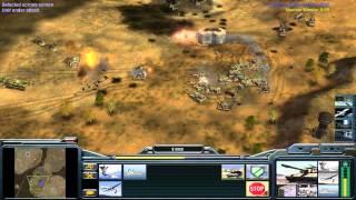Command & Conquer Generals: Zero Hour Gameplay USA 1v1