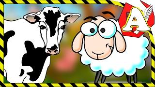 Говорят животные в деревне часть 1. Мультфильмы. Животные. Первые Слова -детские игры для малышей