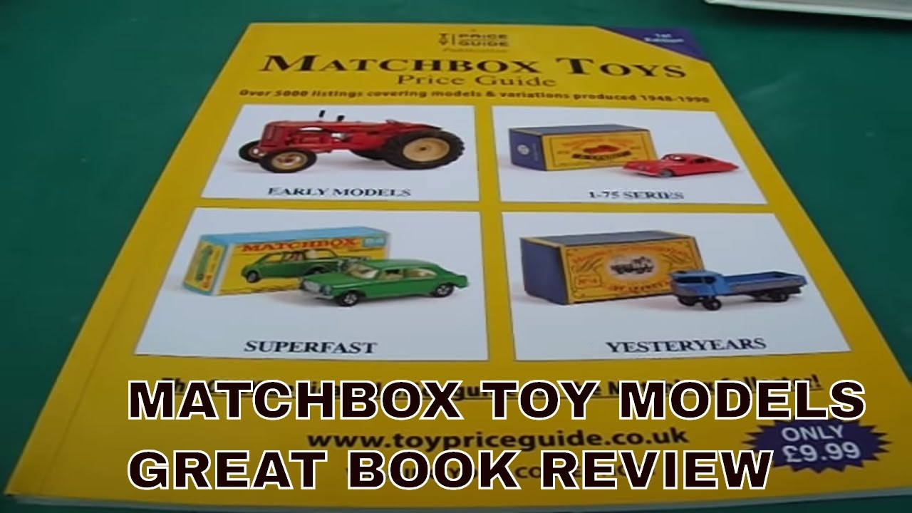 matchbox diecast model cars price guide valuations book review - YouTube