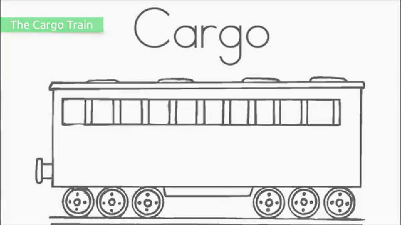 Top 17 Free Printable Train Coloring Pages - YouTube