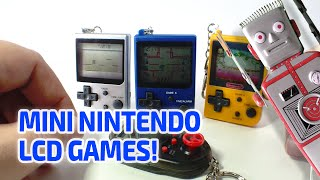 MINI NINTENDO CLASSICS LCD GAMES Working Miniatures