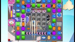 Candy Crush Saga Level 1467  with 19 moves left,   NO BOOSTERS!
