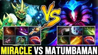 MIRACLE vs MATUMBAMAN — Divine Rapier Wraith King vs Late Game Spectre Dota 2