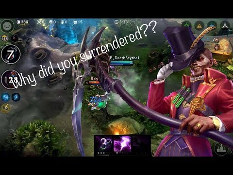 Vainglory - Journey To VG[Gold]: Baptiste CP- Why Did You Surrender?