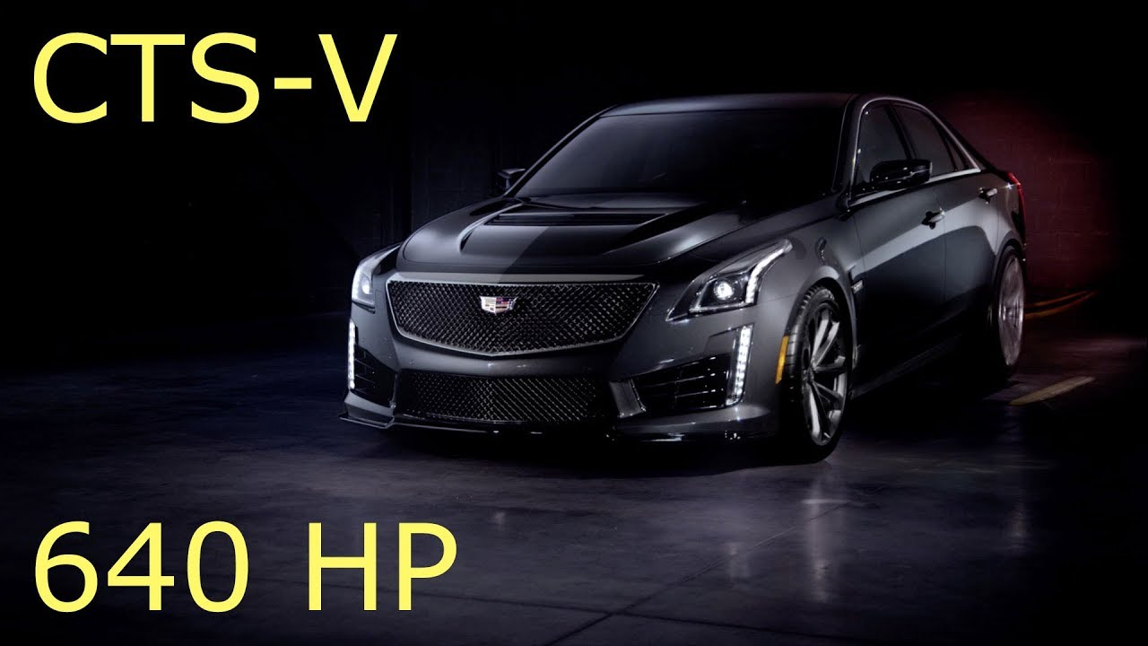 2017 Cadillac CTS-V Carbon Black Pack - Review - YouTube