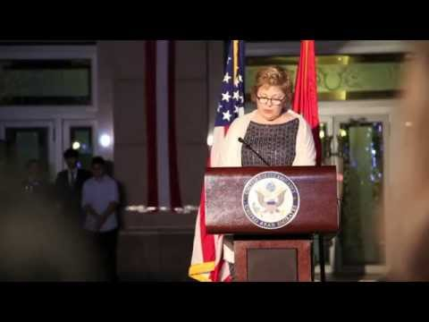 U.S. Ambassador Barbara A. Leaf's remarks at U.S. National Day in Abu Dhabi - 18 Feb 2015