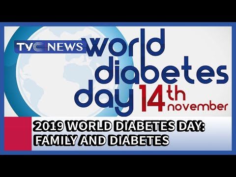 2019 World Diabetes Day: Family And Diabetes