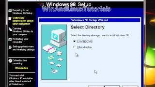 [Microsoft Virtual PC 2007] Windows 98 SE (Second Edition) Installation