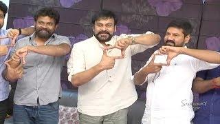 Chiranjeevi Buys Darshakudu Movie First Ticket   #DarshakuduOnAug4th   Sukumar Writings
