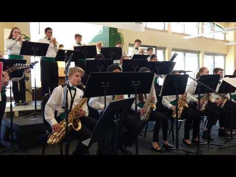 Fancy Pants - Crossler Middle School Jazz Band - Narisa on piano