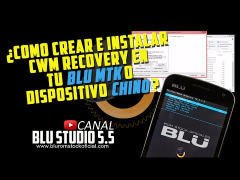 How to create and install CWM recovery on