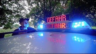 LED Display der Autobahnpolizei 🚓👮🏼♀️ LI2000 auf Zirkon Blaulicht  | ItsMarvin
