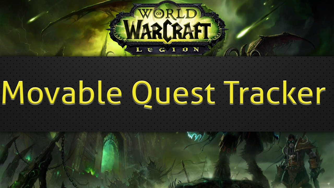 Movable Quest Tracker (WoW addon)
