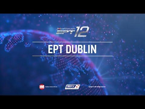 UKIPT Dublin 2016 Live Poker Main Event, Final Table Cards Up – PokerStars