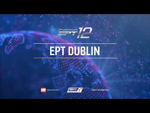UKIPT Dublin 2016 Live Poker Main Event, Final Table Cards Up – PokerStars