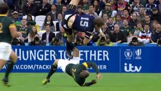 Dangerous play in USA vs South Africa, World Cup - Universal Sports