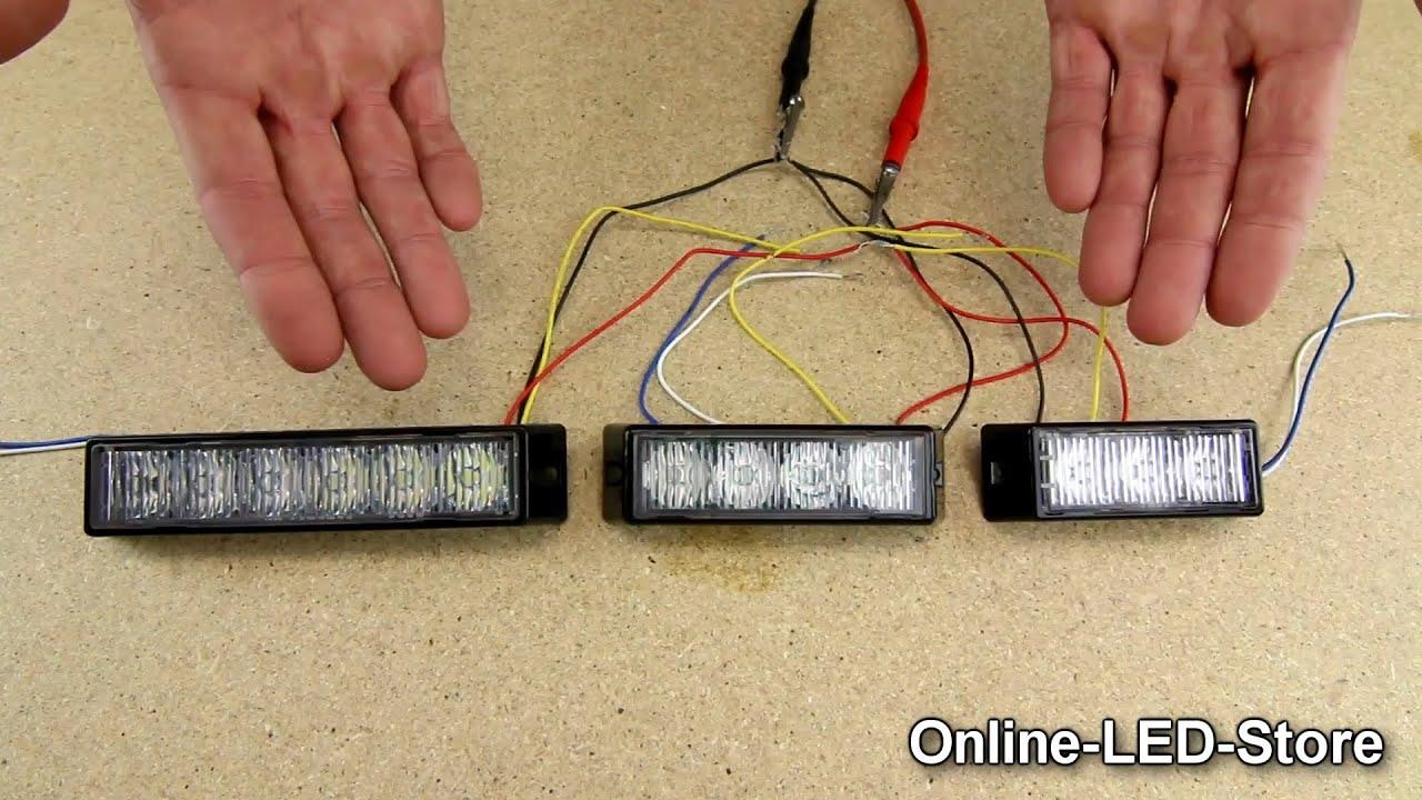 LAMPHUS SolarBlast Light Head Configuration  Wiring
