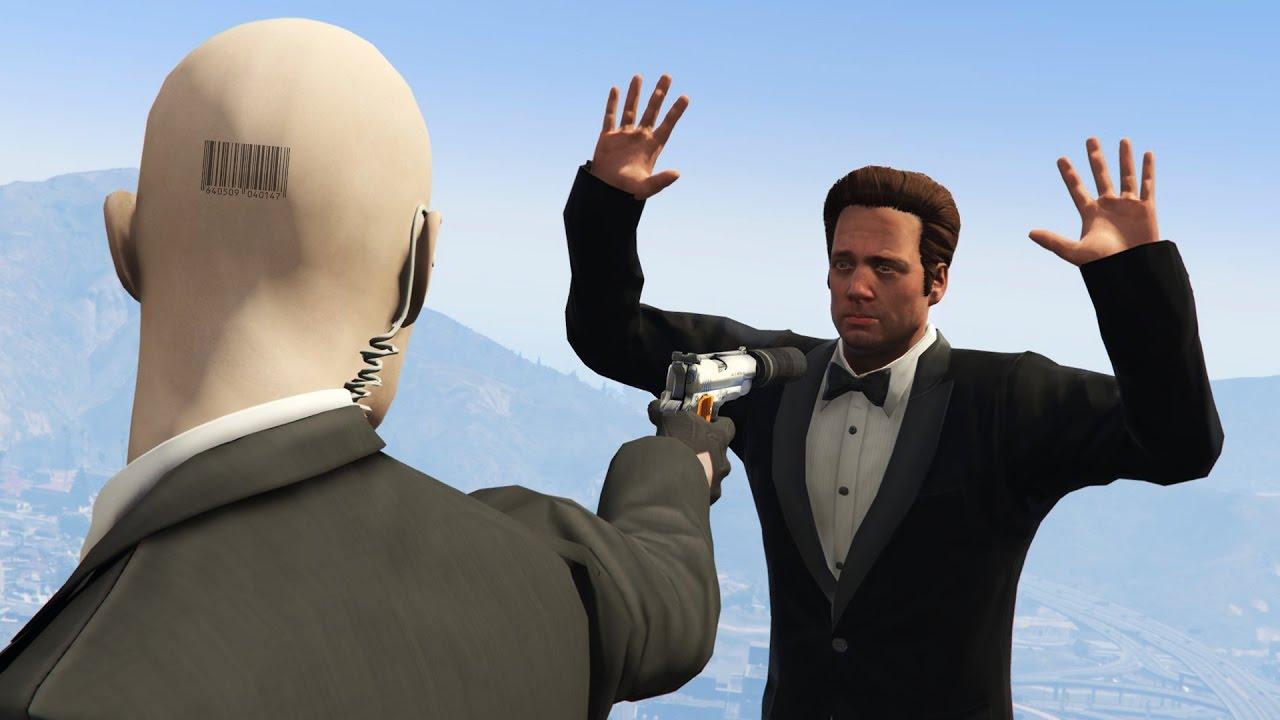 Hitman Agent 47 Gta 5 Mods