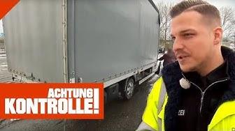 Auffälliger Kleintransporter auf der Autobahn: Was findet die Polizei? | Achtung Kontrolle