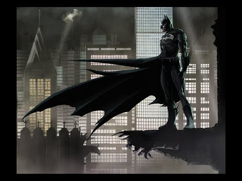 Batman Gotham City Streets (Metal Cover)