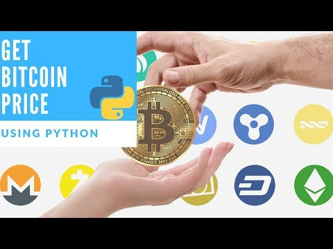 Get Bitcoin Price In Real Time Using Python