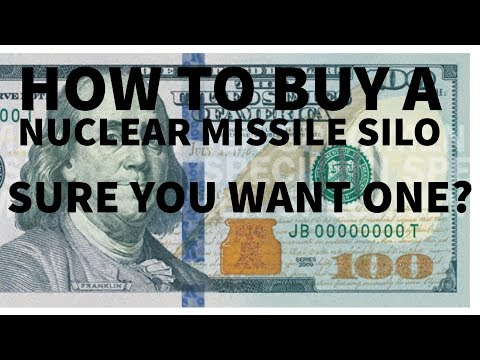 Ep03 - How to choose, find, and buy a nuclear missile silo. Seriously.