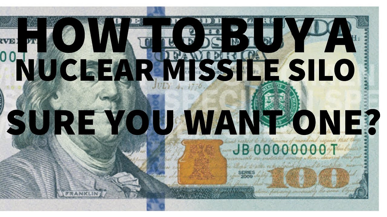 Nuclear Missile Silo For Sale Ep03 How To Choose Find And Buy A Nuclear Missile Silo