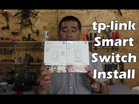 TP-Link Smart Wi-Fi Light Switch Review - Install and Testing