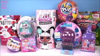 LOL PIKMI POPS HairGoals Series 5 Surprise DOLLS TOYS Unboxing Minnie Mouse My Little Pony SHopkins