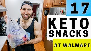 17 Keto Snacks At WalMart | Best Low Carb Keto Snack Ideas, For Work, School, & Travel At WalMart