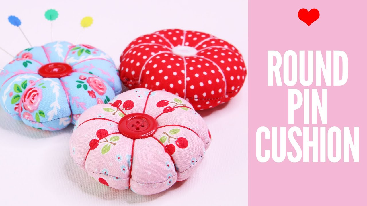 Easy DIY Pincushion Patterns - How to make a pincushion ...