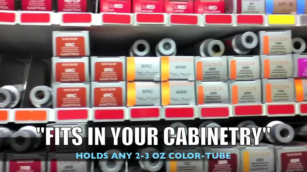 Diy Hair Color Rack Youtube