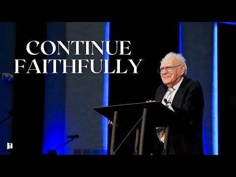 Continue Faithfully | Dr. Wilson