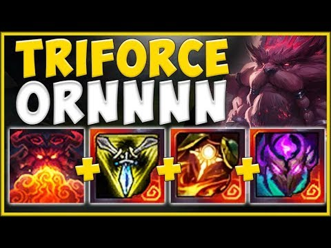 ORNN 100% SHOULD NEVER BE ABLE TO DO THIS MUCH DAMAGE! SEASON 10 ORNN GAMEPLAY! - League Of Legends