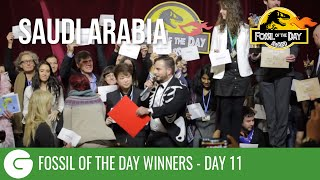 COP21 Fossil of the Day 11 Winner: The Colossal Fossil is Saudi Arabia